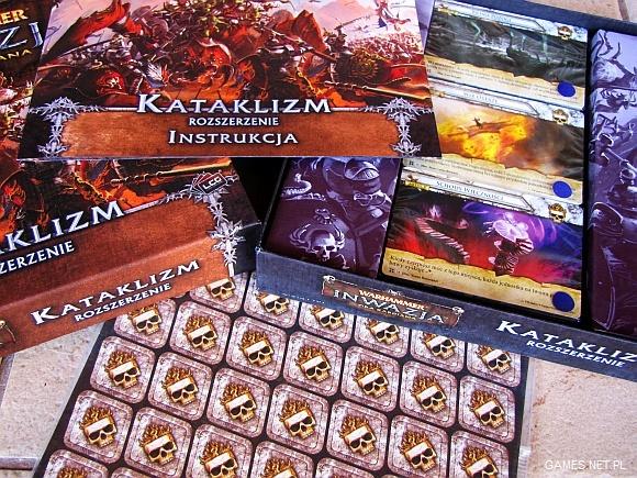 Warhammer Inwazja Kataklizm 1 Warhammer Inwazja   Kataklizm   rozszerzenie do gry