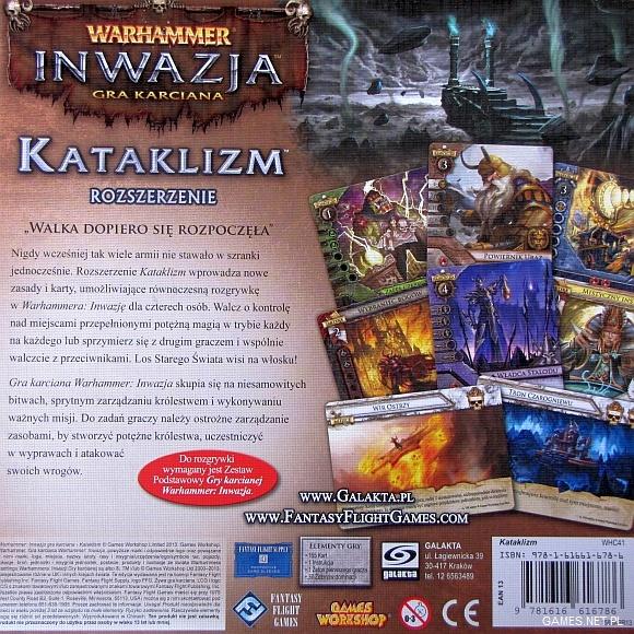 Warhammer Inwazja Kataklizm 4 Warhammer Inwazja   Kataklizm   rozszerzenie do gry
