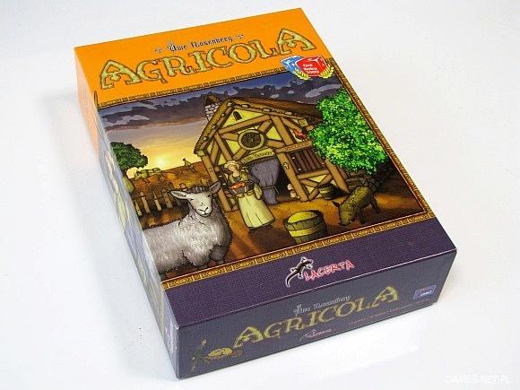 Agricola - pudełko obowiązkowe dla fanów planszówek