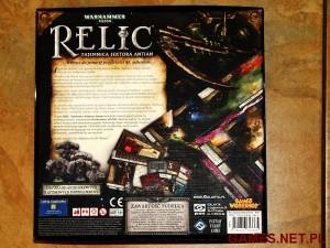 Relic - pudelko tyl