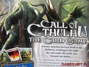 Call of Cthulhu - gra karciana