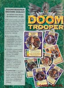 Doom Trooper - reklama z czasopisma Magia i Miecz - 1995
